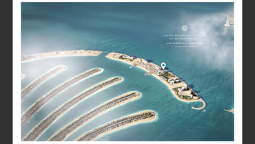 Dubai   Plaja   2 Camere   Comision 0%   Sea view