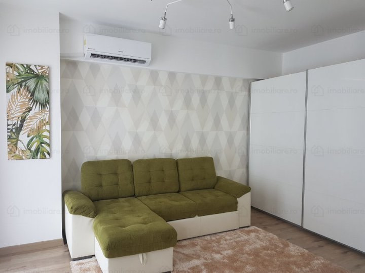 RENTED!!!! 2 Rooms in Belvedere Residence Barbu Vacarescu + 2 parking place (Klaus)