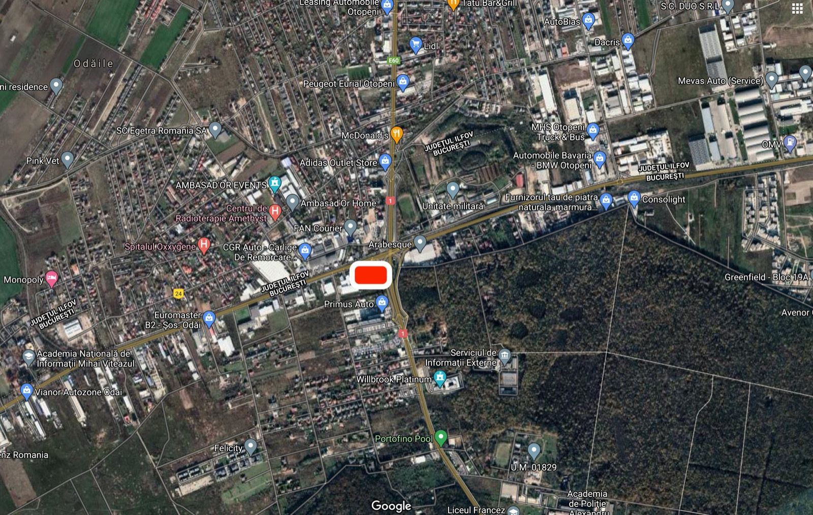 Teren | Baneasa | Centura | Comercial | DN1 | Bucuresti | Otopeni