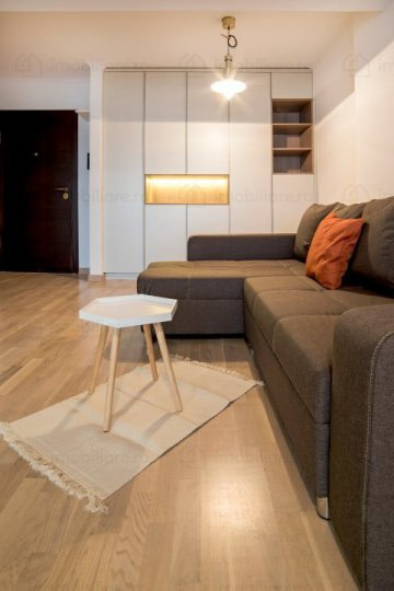 RENTED!!!! 2 rooms Apartment in Icon Residence (Banu Manta – Titulescu) + underground parking